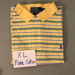 Men's Polo Ralph Lauren Striped Shirt sz XL